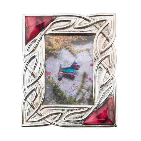 Heathergems Celtic Knotwork Picture Frame in Pewter