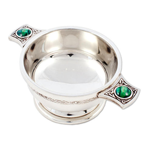 Heathergems Celtic Quaich in Pewter