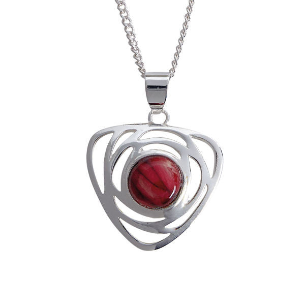 Heathergems Comrie Pendant Necklace In Silver