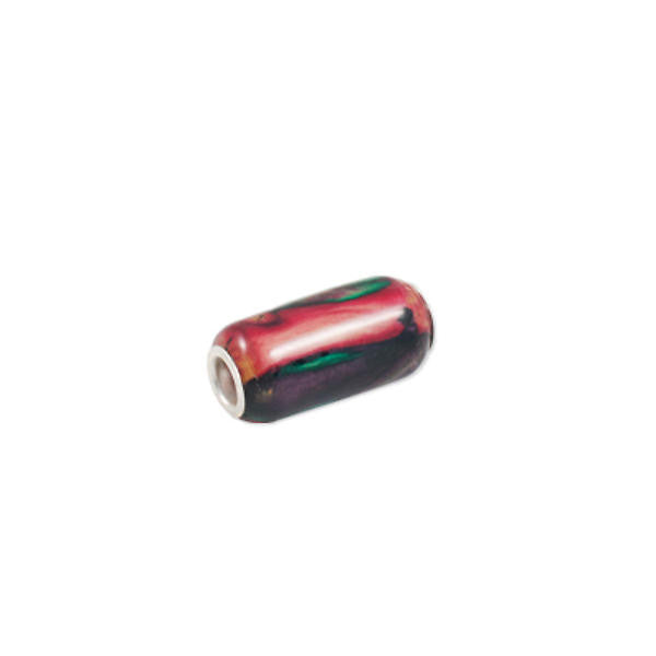 Heathergems Long Cylindrical Bead