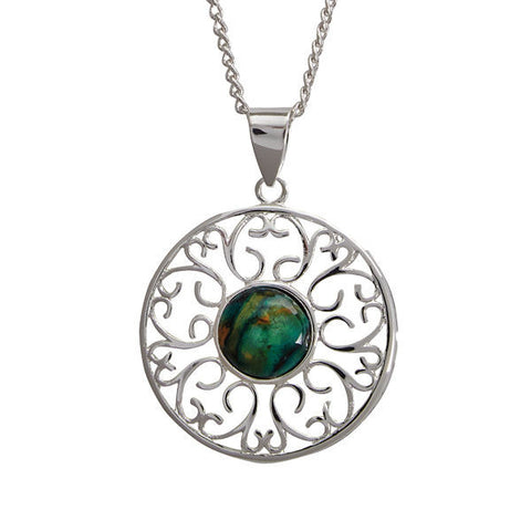 Heathergems Ochil Pendant Necklace In Silver