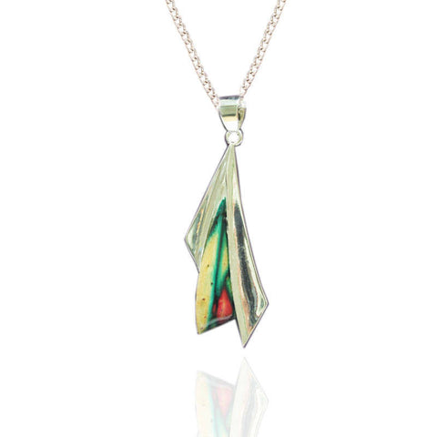Heathergems Sycamore Pendant Necklace In Silver