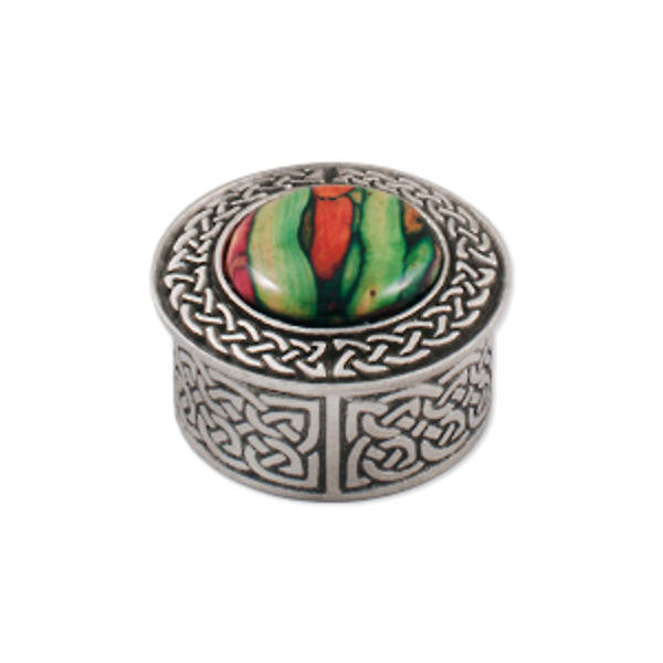 Heathergems Wee Celtic Knotwork Pill Box