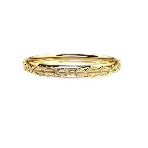 Scottish Infinity Celtic Wedding Ring