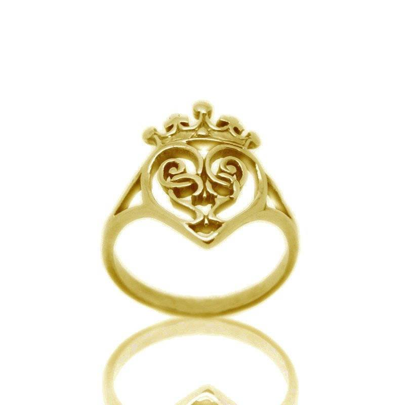 Luckenbooth Ring in Gold