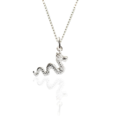 Sterling Silver Loch Ness Monster Pendant
