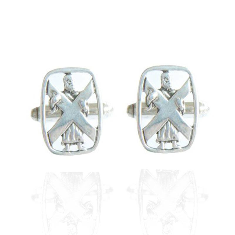 St Andrews Cufflinks in Silver