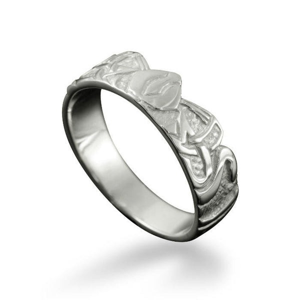 Norse Three Norns Ring Sterling Silver