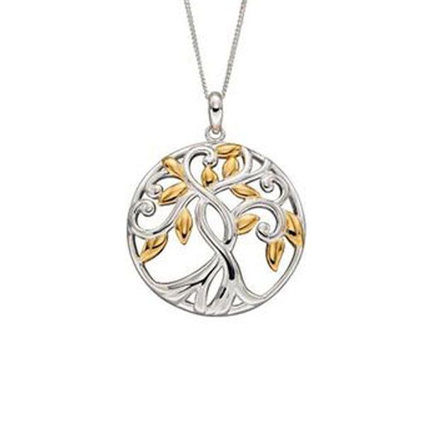 Majestic Tree of life Necklace in Silver