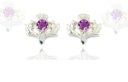 scottish thistle jewellery