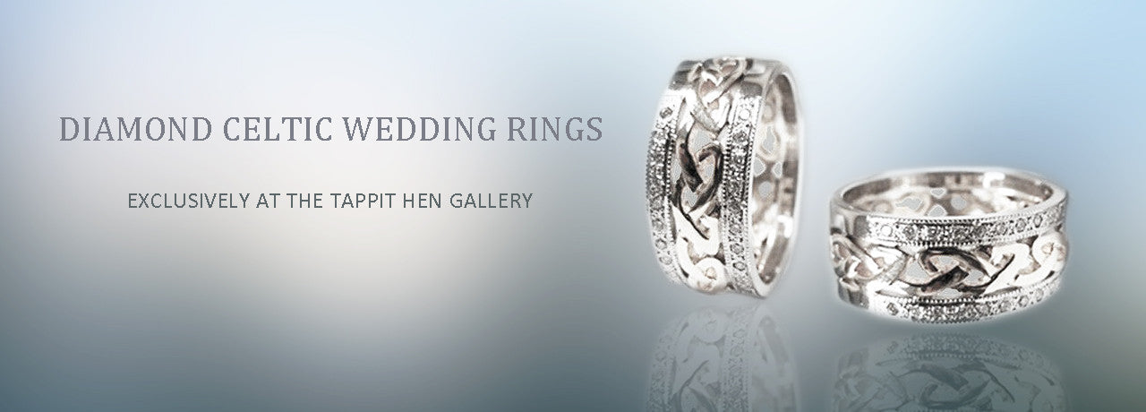 Celtic Wedding & Engagement Rings in Edinburgh