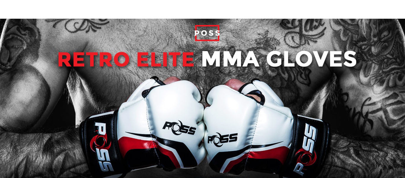 POSS Retro Elite MMA Gloves