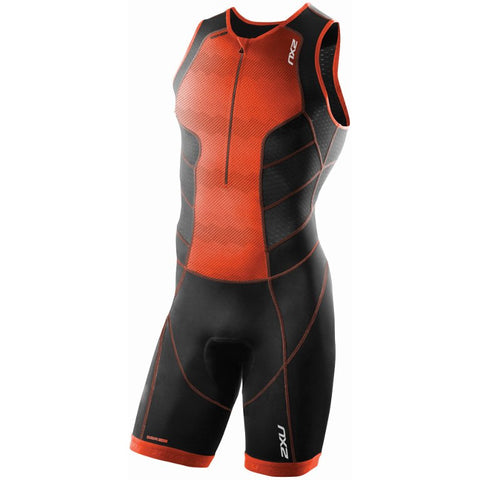 2XU Men's Perform Front Zip Trisuit MT3858D