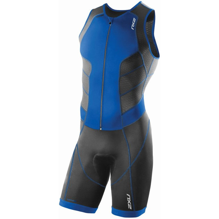 2XU Men's Perform Full Front Zip Trisuit MT3859D - Triathlon Point