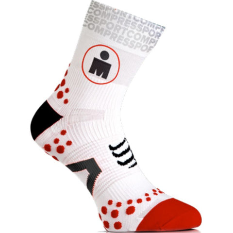 Compressport V2.1 Pro Racing Run Socks Ironman MDot Hight - Triathlon Point