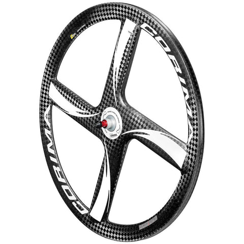 "Front 4 SPOKE HM Carbon Wheel 28"" 700C Tubular"