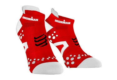 Compressport  V2.1 Pro Racing Run Socks Ironman Low - Triathlon Point