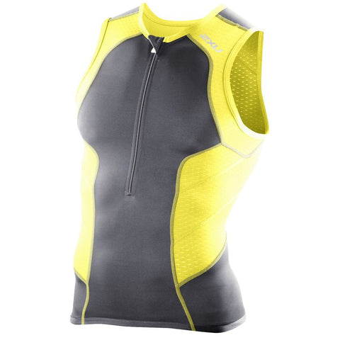 2XU Men's Perform Tri Singlet MT2850A - Triathlon Point