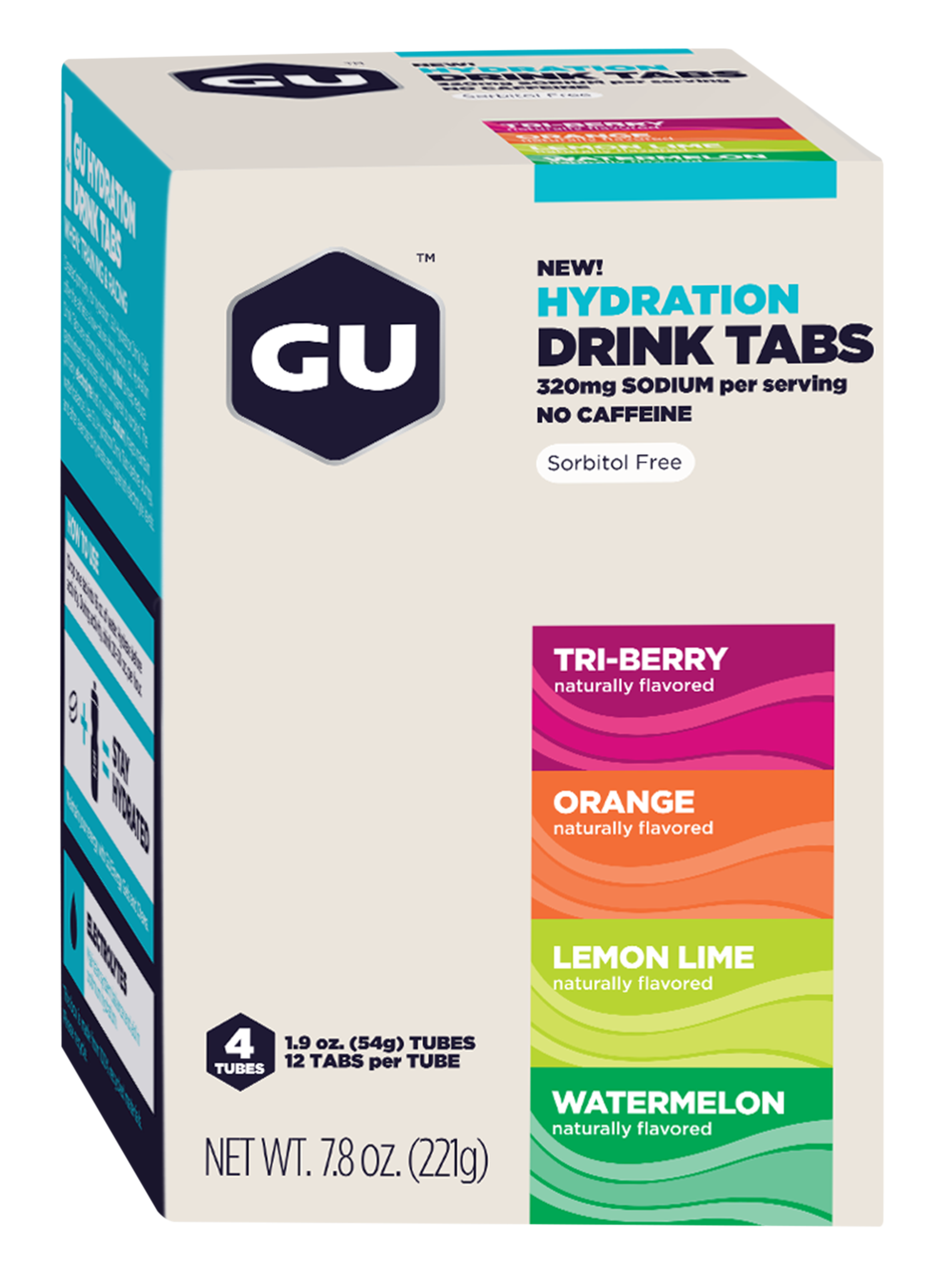 GU Hydration drink tabs - Triathlon Point