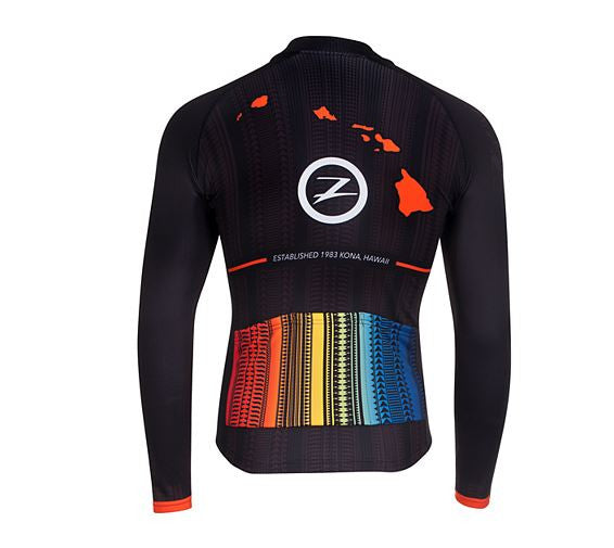 Zoot Men's Cycle Ali'i Thermo LS Jersey