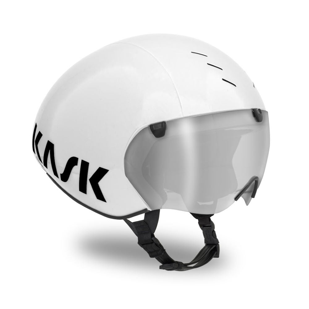 Kask Bambino Pro With Clear Visor - Triathlon Point