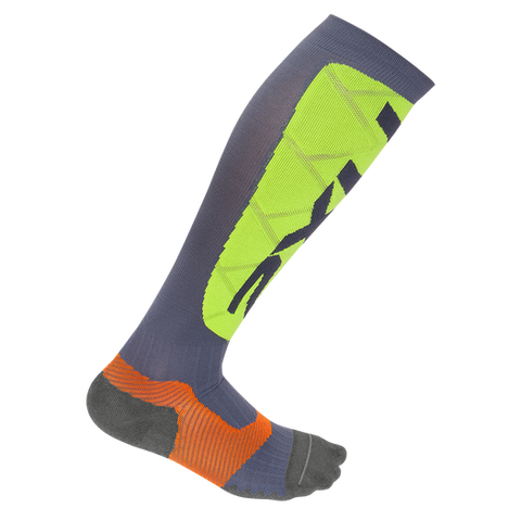 2XU Men's Elite Compression Alpine Sock X-LOCK