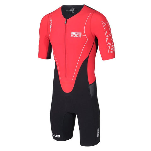 HUUB DS Long Course Triathlon Suit Red - Triathlon Point