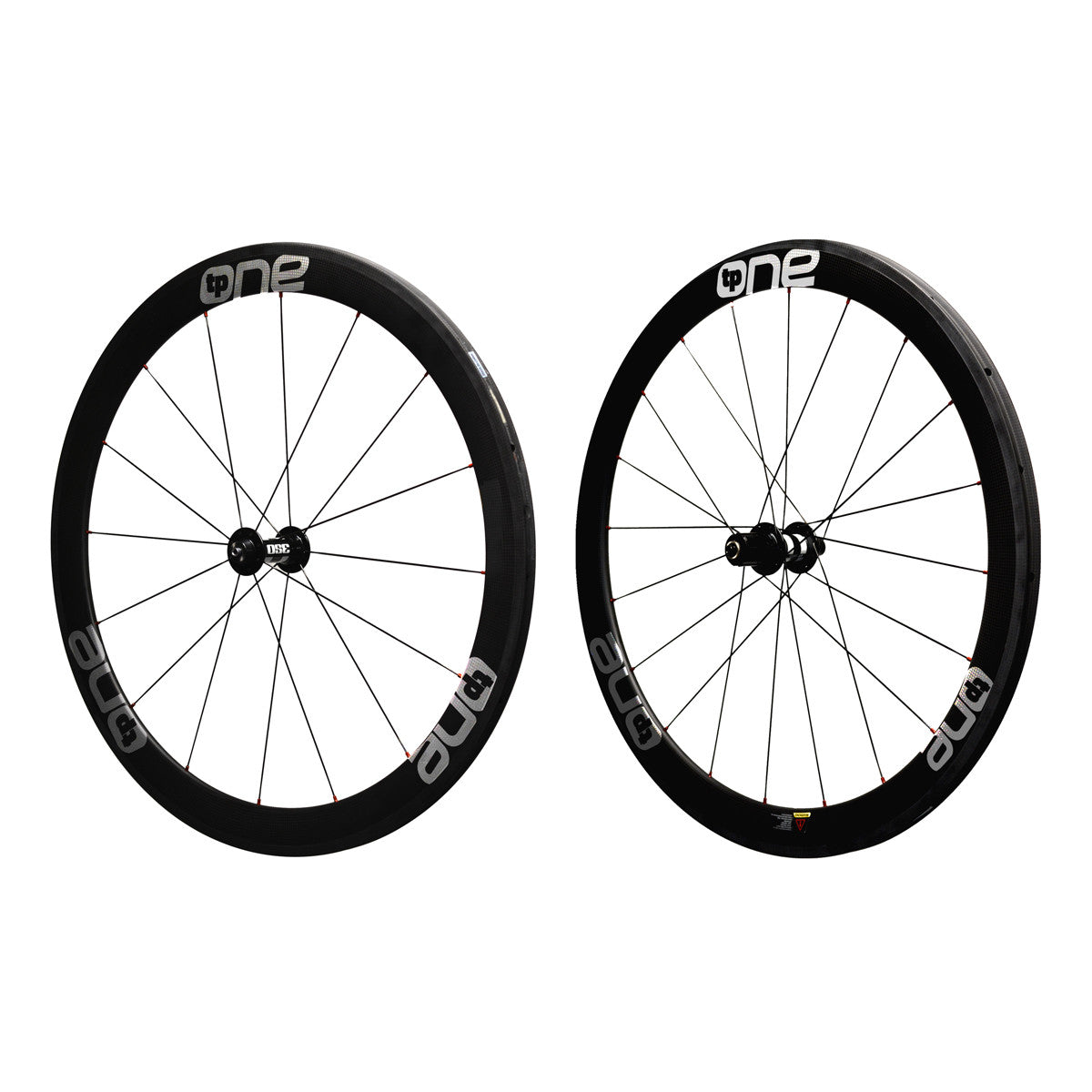 TP ONE Carbon Tubular Set 50f 50r