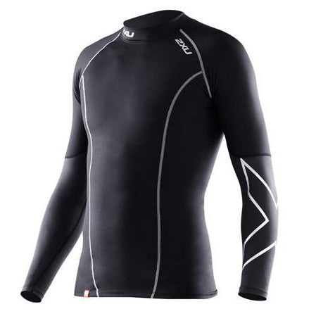 2XU Men's Elite L/S Compression Top