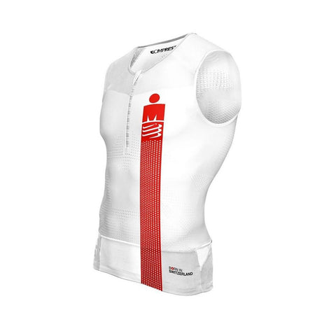 Compressport Men's TR3 Tank Top Ironman Smart