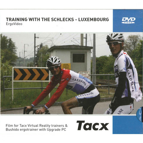 Tacx training with the schlecks - Luxembourg DVD