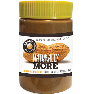 Naturally More Natural Creamy Peanut Butter with Protein - Triathlon Point