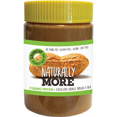 Naturally More Natural Crunchy Peanut Butter with Protein - Triathlon Point