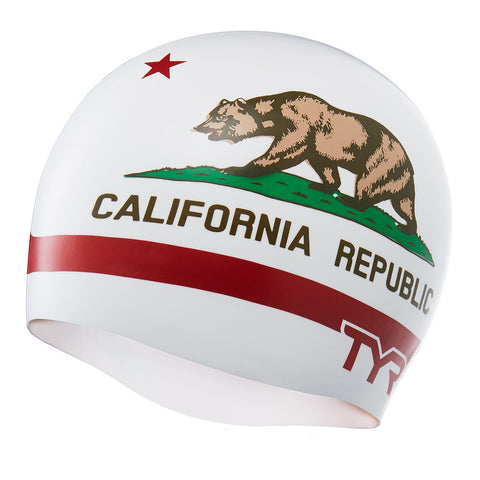 Tyr California Republic Swim Cap