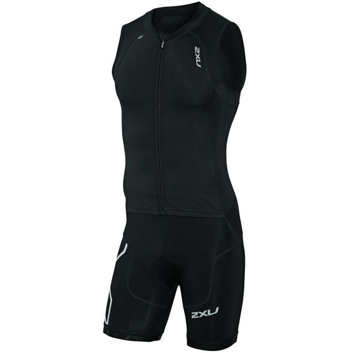 2XU Men's Compression Full Zip Trisuit MT3614D - Triathlon Point