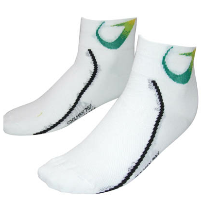 Santini Green Edge Socks