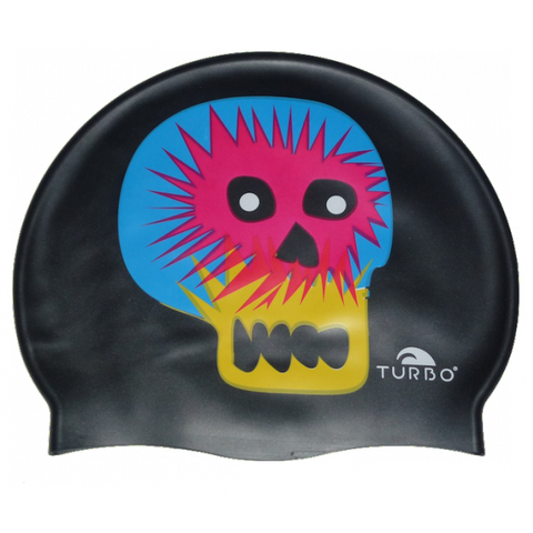 Turbo Halloween Skull Silicone Swim Cap - Triathlon Point