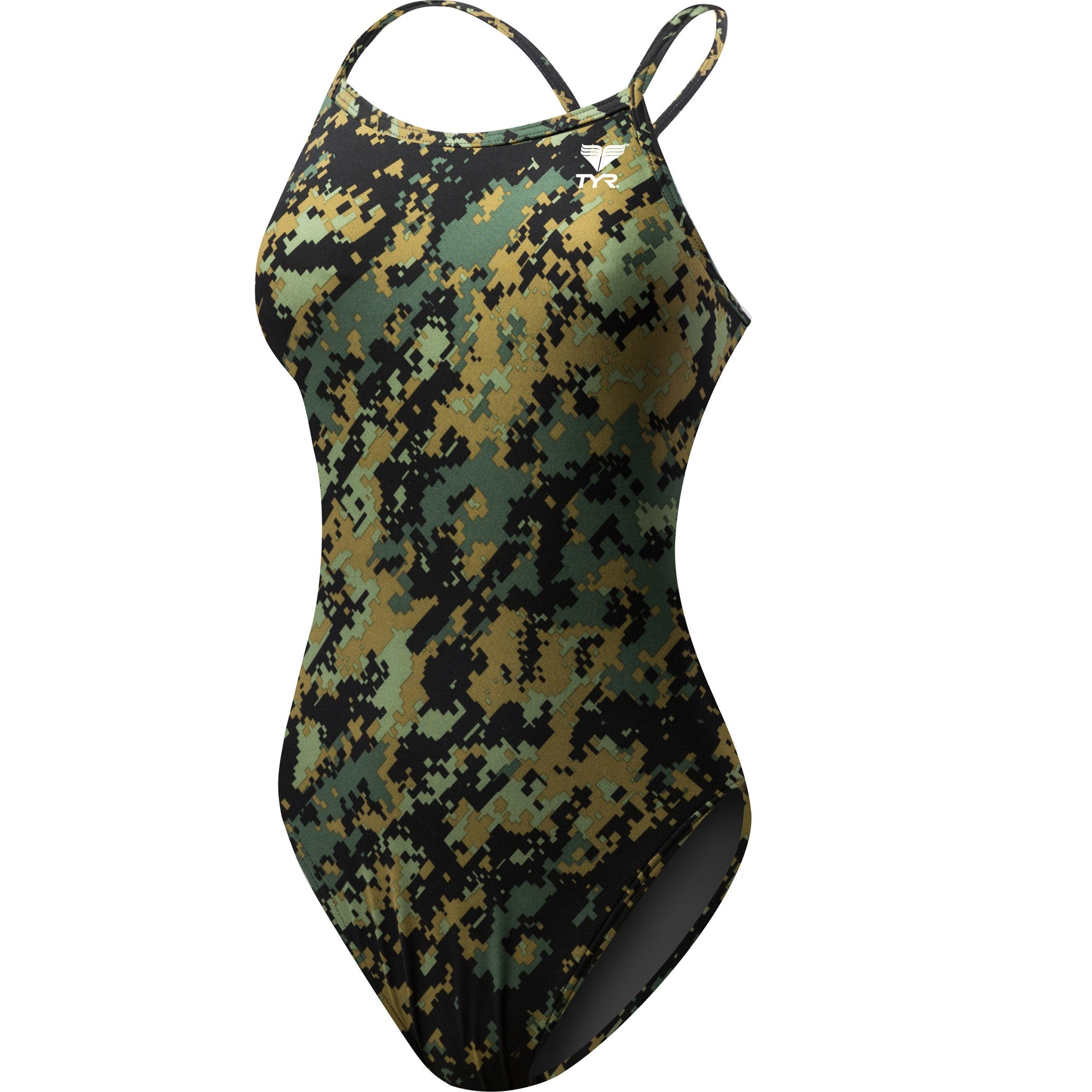 Tyr Women's Digi Camo Crosscutfit Swimsuit - Triathlon Point