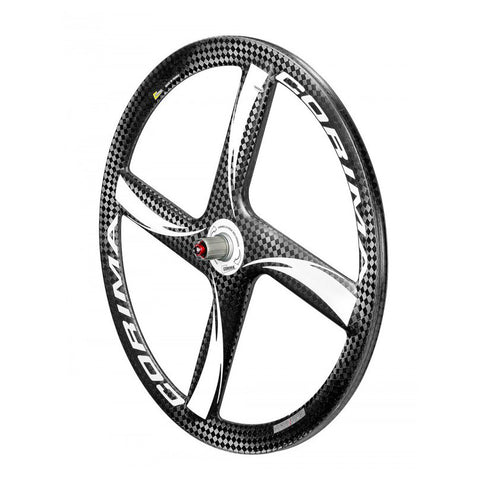 "Corima Rear 3 SPOKE HM Carbon Wheel 28"" 700C Tubular"