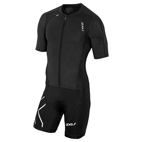 2XU Men's Compression Full Zip Sleeved MT3613D - Triathlon Point