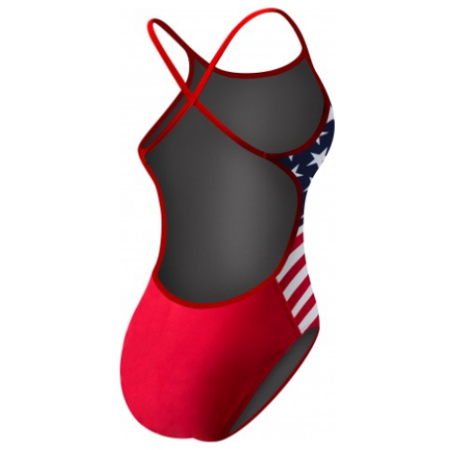 Tyr Women's Stars and Stripes Crosscutfit Swimsuit