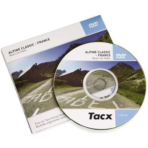 TACX ALPINE CLASSIC 2007 FRANCE DVD