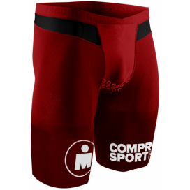 Compressport Men's TR3 Brutal Short Ironman Stripes