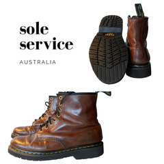 Doc Martens resole by Sole Service