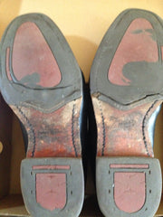 Before rubber soles worn and damaged RM Williams