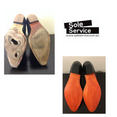 Sole Service RM Williams Before and After
