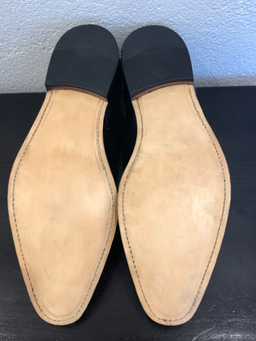After full leather sole and reheel by Sole Service