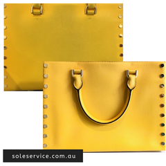 HANDBAG STAIN REMOVAL AND COLOUR TOUCH UP | SOLE SERVICE