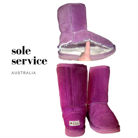 Ugg Boot restoration - Sole Service