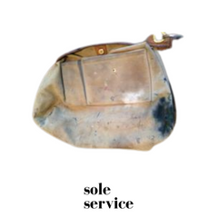 Louis Vuitton handbag clean by Sole Service Before image
